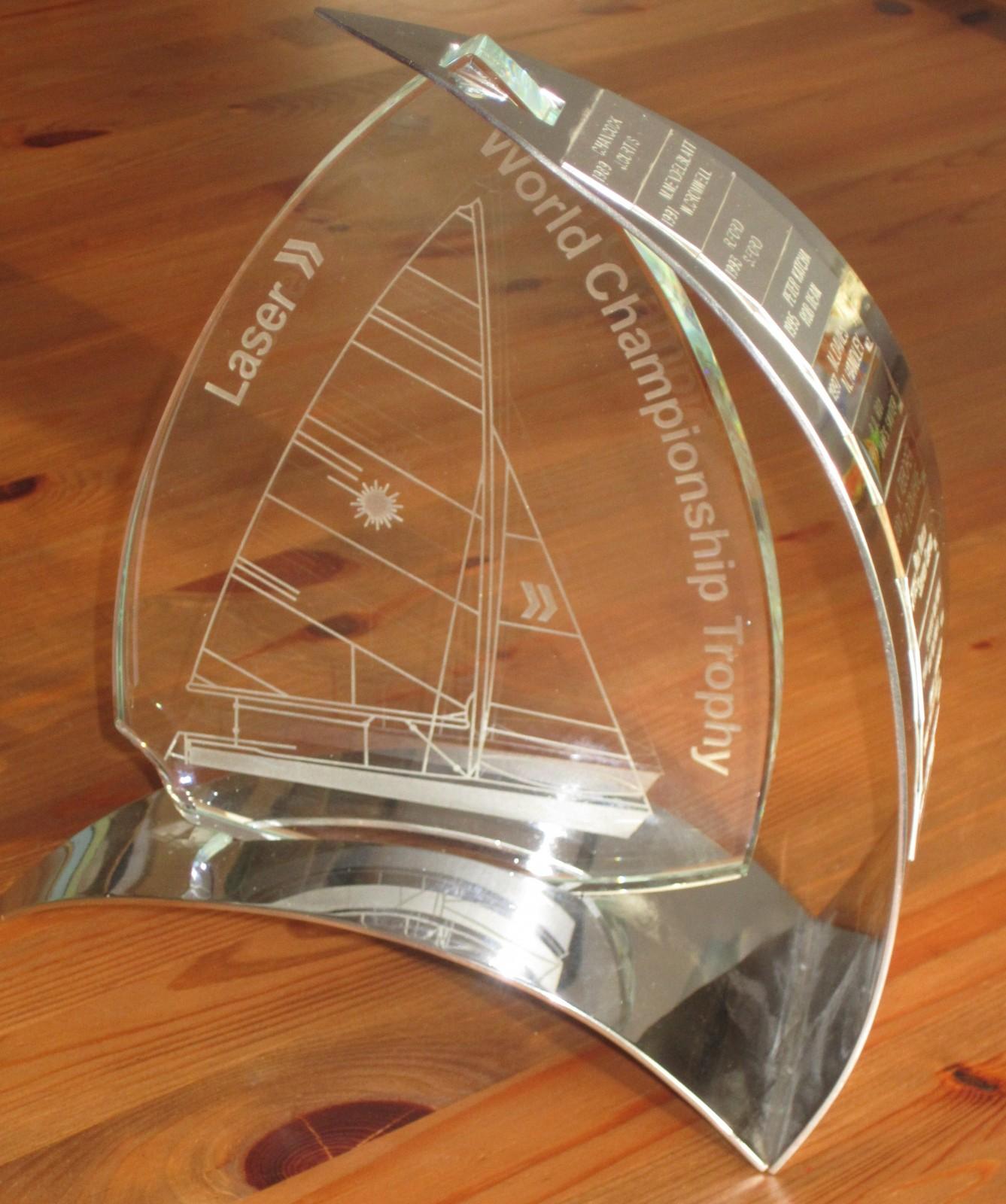 Der Laser2 - Weltmeister - Pokal
