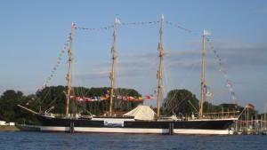 Die Passat wartet auf uns - Die Hansestadt Lübeck bittet zum Empfang