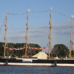 """Die Hansestadt Lübeck bittet zum Empfang auf die """"Passat"""""""