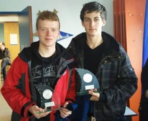 Sieger der Silbernen Saling: Peter & Arne